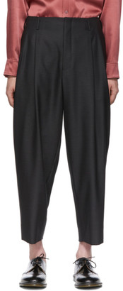 Comme des Garcons Grey Dobby Trousers
