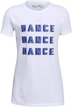 "Under Armour Girls 7-16 Dance Dance Dance"" Tee"
