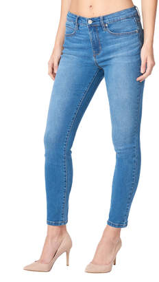 Nicole Miller New York High-Rise Skinny Jeans, Blue