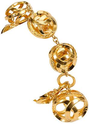 One Kings Lane Vintage 1970s Chanel Sphere Bracelet - Vintage Lux