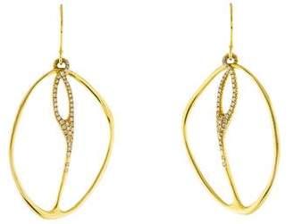 Ippolita 18K Diamond Drop Earrings