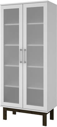 Manhattan Comfort Serra 5 Shelf Bookcase