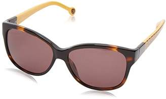 Carolina Herrera Women's SHE511-743 Rectangular Sunglasses