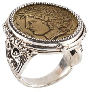 Women's Konstantino 'Arethusa' Coin Ring $650 thestylecure.com