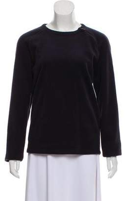 Calvin Klein Collection Scoop Neck Sweatshirt