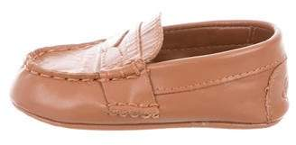 Ralph Lauren Boys' Leather Round-Toe Loafers