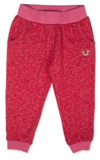 True Religion Little Girl's & Girl's Heathered Sweatpants $59 thestylecure.com
