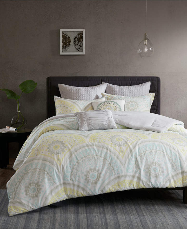 Urban Habitat Matti Cotton 7-Pc. Full/Queen Duvet Cover Set Bedding