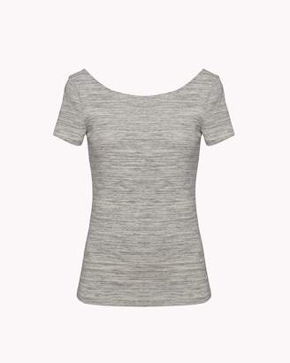 Theory Soft Scoop Back Tee