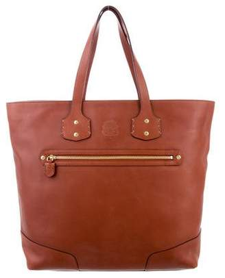 Ghurka Smooth Leather Tote