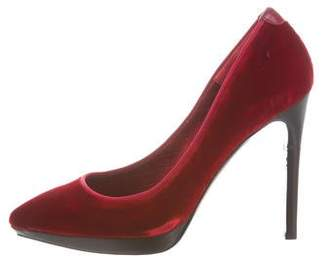 Tom Ford Velvet Pointed-Toe Pumps w/ Tags