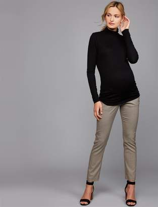 Pietro Brunelli Pea Collection Mid Belly Straight Leg Maternity Pants