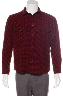 Filson Wool Houndstooth Shirt