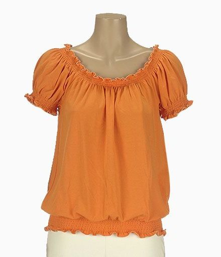 Nygard collection bohemian peasant top