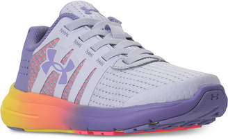 Under Armour Little Girls' Micro G Fuel Running Sneakers from Finish Line