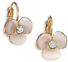 Kate Spade Women's Disco Pansy Mother-Of-Pearl Leverback Earrings