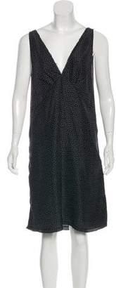 R 13 Printed Knee-Length Dress