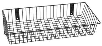 "RackEm Racks Rack'Em 9080-B Mount Anywhere Black Wire Basket 24""x12""x4"" provides versatile storage all of your outdoor gear, supplies and organizational needs."