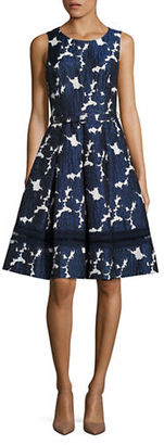 Eliza J Floral Patterned Dress $178 thestylecure.com