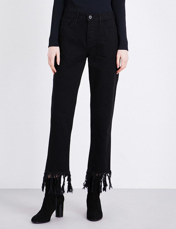 3x13X1 VM3 cropped high-rise jeans