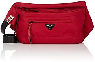 Prada Women's Leather-Trimmed Belt Bag