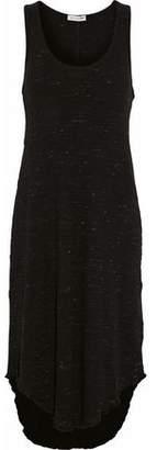 Rag & Bone Marled Ribbed-Knit Cotton-Blend Midi Dress