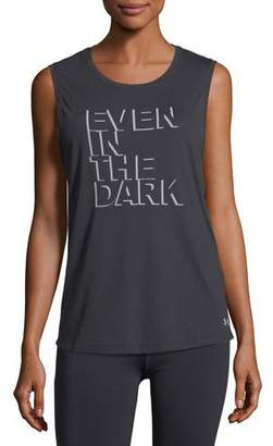 Under Armour Even in The Dark Graphic Muscle Tank Top