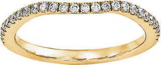 MODERN BRIDE 1/7 CT. T.W. Diamond 14K Yellow Gold Wedding Band