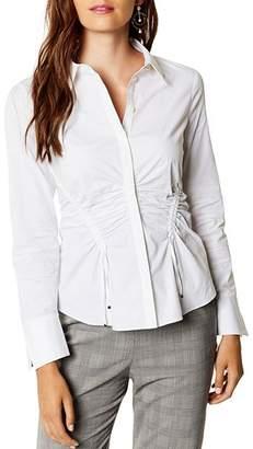 Karen Millen Ruched Drawstring Shirt