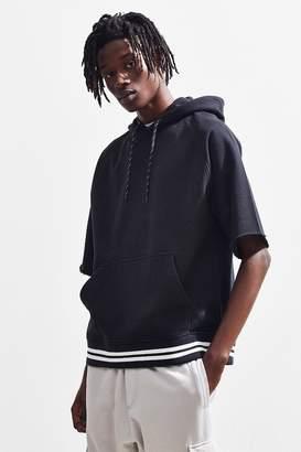 Urban Outfitters Short Sleeve Hoodie Sweatshirt