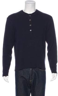 Michael Kors Knitted Henley Sweater