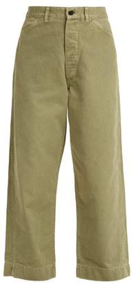Chimala Usmc Utility Denim Trousers - Womens - Khaki