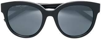 Saint Laurent Eyewear oversized frame sunglasses