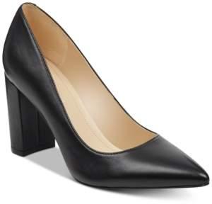Marc Fisher Viviene Block-Heel Pumps Women's Shoes