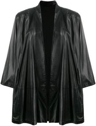 Gianfranco Ferre Pre-Owned oversized open coat