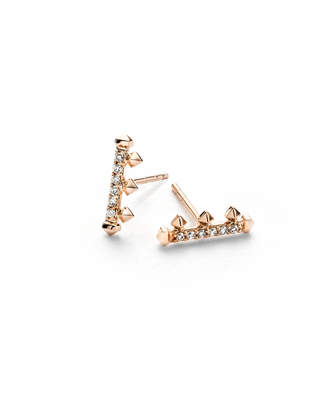 Kendra Scott Dorothy White Diamond Stud Earrings