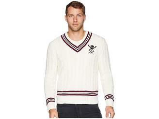 Polo Ralph Lauren Cotton Cashmere Cricket Cable Sweater