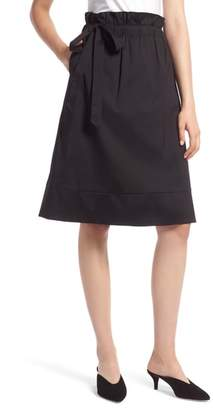 Halogen Side Tie A-Line Skirt