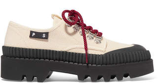 Proenza Schouler Cotton-canvas Sneakers - Off-white