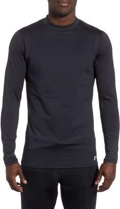 Under Armour ColdGear(R) Mock Neck Long Sleeve T-Shirt