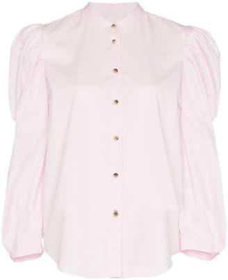 Khaite Rebecca structured sleeve cotton shirt