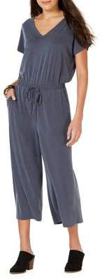 Style&Co. Style & Co. Petite Classic V-Neck Jumpsuit