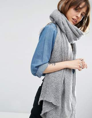 ASOS Oversized Knit Scarf $23 thestylecure.com