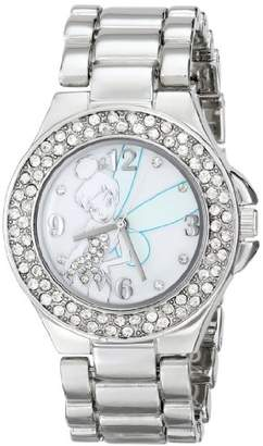 Disney Women's TK2031 Tinkerbell Mother-of-Pearl Dial Bracelet Watch