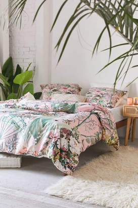 Deny Designs 83 Oranges For Deny Botanic Duvet Cover