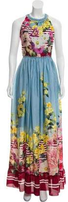 Blumarine Silk Maxi Dress w/ Tags