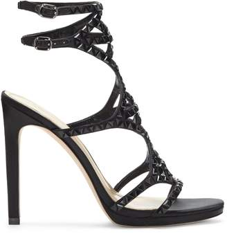 Vince Camuto Imagine Galvin Embellished Double-buckle Sandal