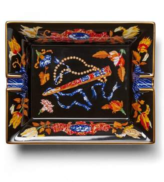 Banana Republic LUXE FINDS   Hermes Black Porcelain Catchall