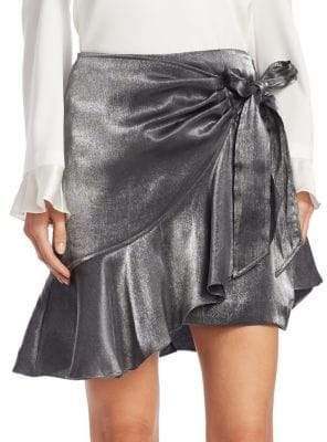 Cinq à Sept Harley Metallic Skirt