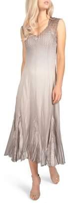 Komarov Chiffon & Lace Dress